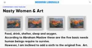 NASTY WOMEN Memphis in Modern Liberals