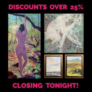 Closing Tonight!